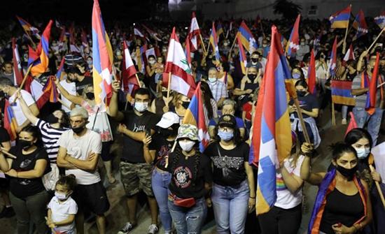 الأرمن اللبنانيون في بيروت مستعدون للقتال ضد أذربيجان في ناغورني قره باغ