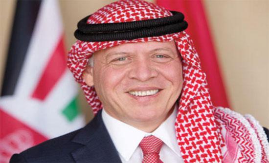 """إهداء إلى الملك من """"عمان العربية"""""""