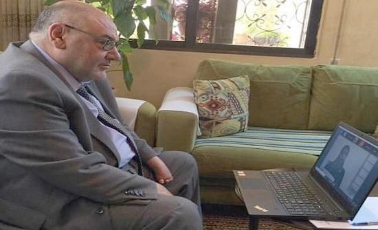 مناقشة أول رسالة ماجستير في الجامعة الهاشمية عن بُعد