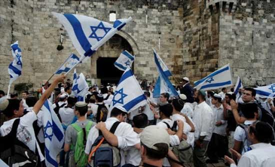 تحذيرات فلسطينية من مسيرة الاعلام الاسرائيلية للمستوطنين بالقدس الخميس المقبل