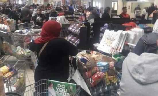 الحاج توفيق: الإقبال على المواد الغذائية الأكبر منذ بداية الأزمة