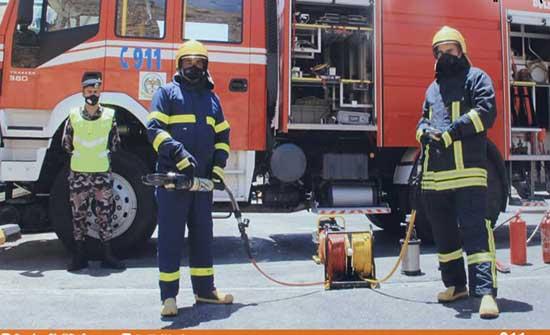 الدفاع المدني يتعامل مع 1433 حالة إسعافية مختلفة الخميس