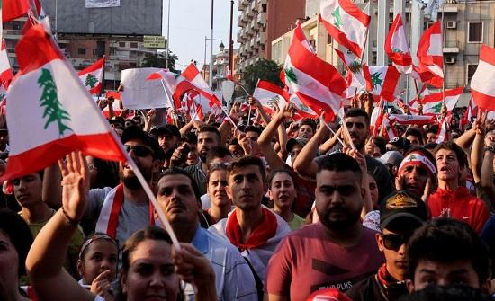 لبنان: تظاهرات شعبية احتجاجية لشل الحركة في المرافق العامة