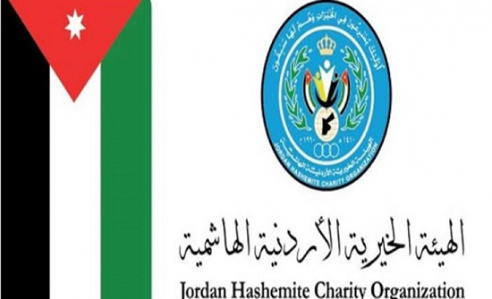 الهيئة الخيرية تسير قافلة مساعدات انسانية الى غزة