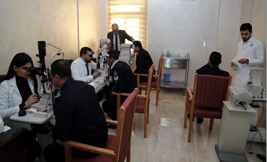 الدفاع المدني ينظم يوماً طبياً مجانياً بالتعاون مع مستشفى العيون التخصصي
