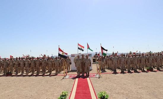 """بدء فعاليات التمرين الأردني المصري المشترك """"العقبة 5"""""""