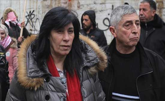 إسرائيل تفرج عن القيادية الفلسطينية خالدة جرار