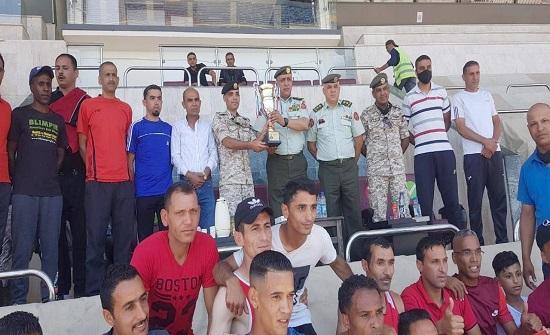 فريق الوسطى يظفر بلقب البطولة العسكرية لألعاب القوى