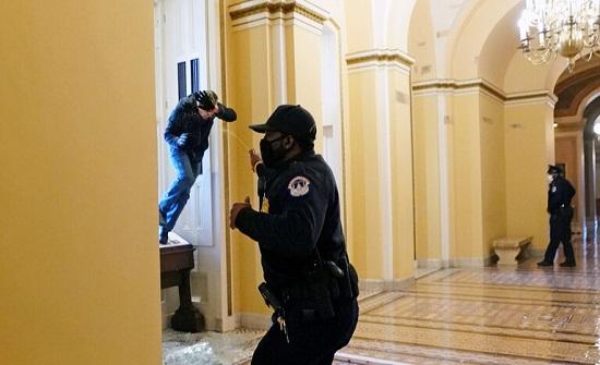 أنباء عن إصابة شخص بإطلاق نار في الكونغرس