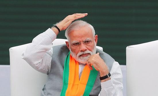 رئيس وزراء الهند يهنئ بمئوية الدولة