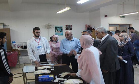 """طب اليرموك تنظم حملة صحية توعوية بعنوان  """"قطرة حياة"""""""