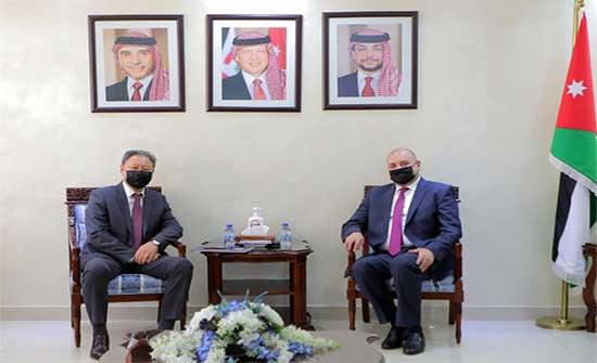 العودات يلتقي سفيرّ عُمان وكازاخستان