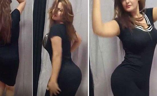 """بالفيديو- وصلة رقص لسما المصري تعرضها للسخرية: """"انتي عندك مغص مش أكتر""""!"""