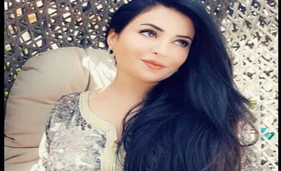 الأردنية نجاح المساعيد تحتفل بذكرى زواجها