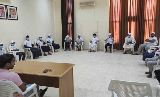 مواصلة تنفيذ معسكرات الحسين للعمل والبناء 2021