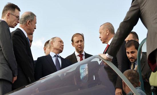 """أردوغان: نبحث مع روسيا مسألة شراء مقاتلاتها الحديثة """"سو–57"""""""