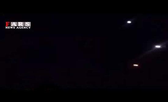 بالفيديو : صور أولية للقصف الصاروخي الذي تبناه الحرس الثوري الإيراني واستهدف قاعدة عين الأسد