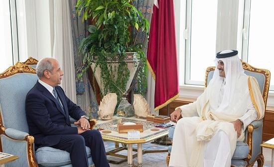 الخارجية: امير قطر يعتمد اوراق السفير الاردني