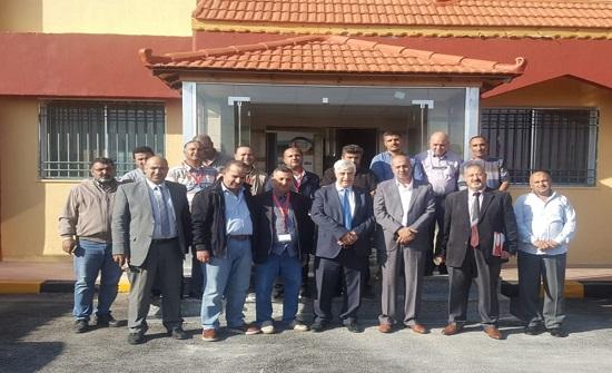 مدير عام مؤسسة التدريب المهني يزور معاهد محافظة الكرك