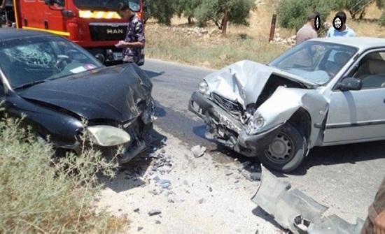 إربد : وفاة و 6 إصابات اثر حادث تصادم