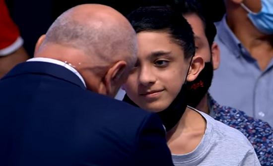فيديو : طفل مصاب بتفجير بيروت يوجه رسالة