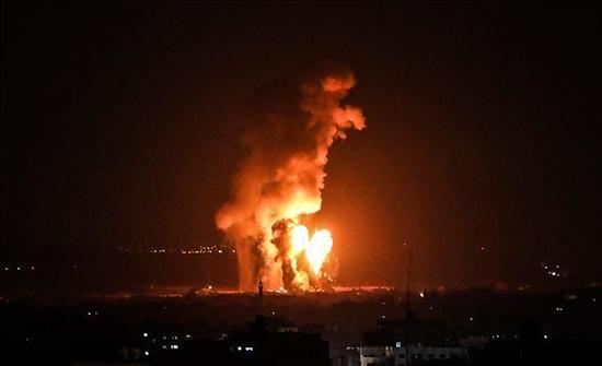 طائرات إسرائيلية تقصف موقعا جنوبي غزة