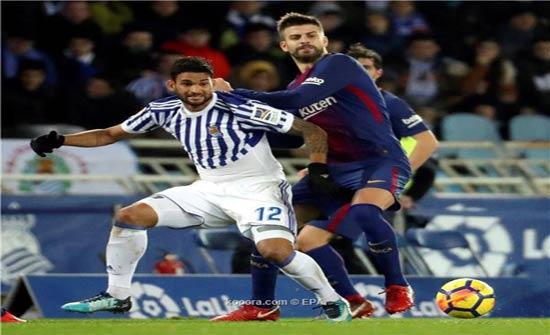 برشلونة يمنع بيكيه من المخاطرة بمستقبله