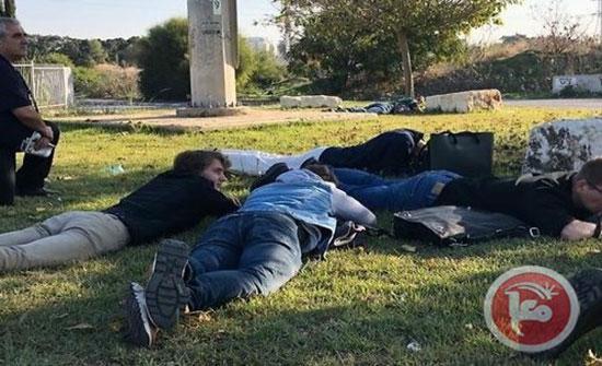 صور وفيديو- 100 صاروخ ضربت مستوطنات الغلاف وصولا الى تل ابيب