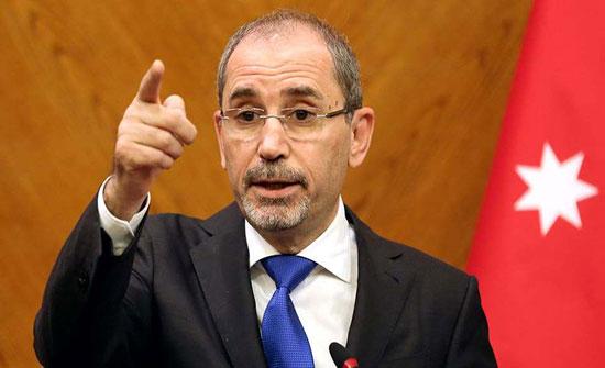 الصفدي يواصل اتصالات المملكة لبلورة موقف دولي ضد القرار الاسرائيلي