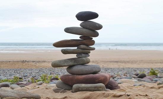 بالصور : اشكال جميلة من الحجارة