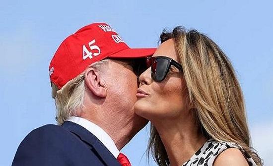 ميلانيا ترامب تعد الدقائق للحصول على الطلاق