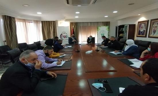 وزير البيئة يلتقي اللجنة الفنية لحملة النظافة الوطنية