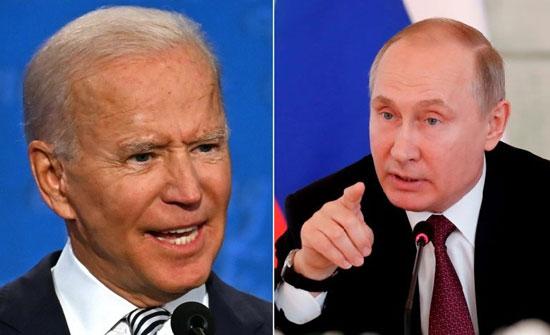 موسكو تأسف لعدم قبول واشنطن إجراء حوار بين بوتين وبايدن