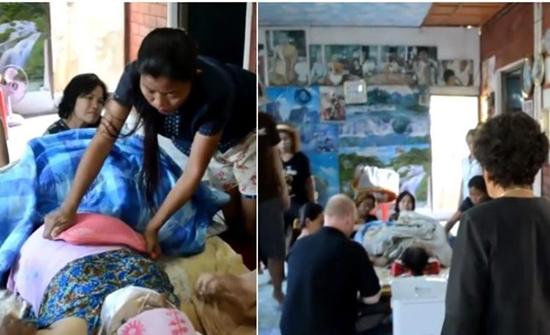 بالفيديو : غسَّلها زوجها وأقام جنازة لها وعند إحراق جثتها استيقظت في تايلند