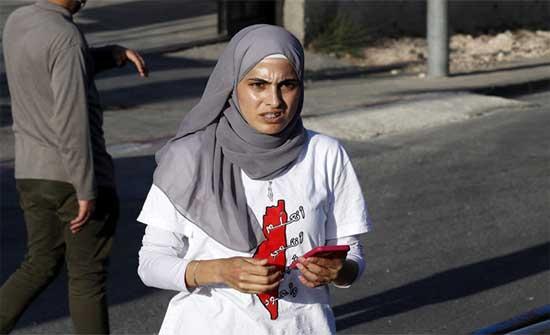 الإفراج عن الناشطة المقدسية منى الكرد
