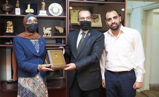 """""""عمان العربية"""" تلتقي الملحقية الثقافية العراقية"""