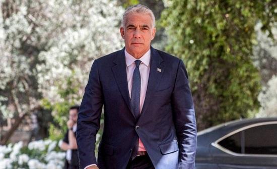 لابيد يبلغ رئيس إسرائيل بنجاح تشكيل ائتلاف حكومي جديد