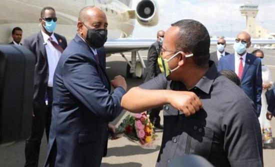 قمة سودانية إثيوبية.. ومفاوضات سد النهضة تتواصل