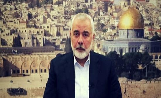هنية: حماس مع إجراء الانتخابات لكنها للأسف لم تكتمل لأسباب غير مقنعة