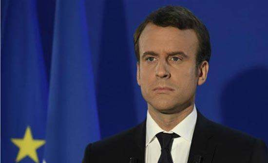 الرئيس الفرنسي: نقف مع الشعب اللبناني ولن نتركه ابدا