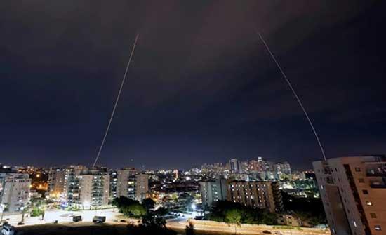 """اطلاق صاروخ من غزة نحو مستوطنات """"الغلاف"""""""