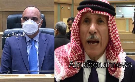 العرموطي للخصاونة : هناك اردنيون  يموتون بسبب عدم وجود تأمين صحي لهم