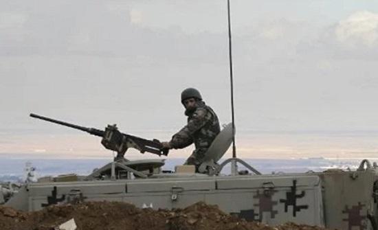 احباط محاولة تسلل وتهريب مخدرات من الأراضي السورية