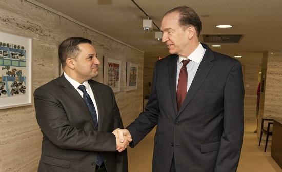 رئيس البنك الدولي يصل الأردن