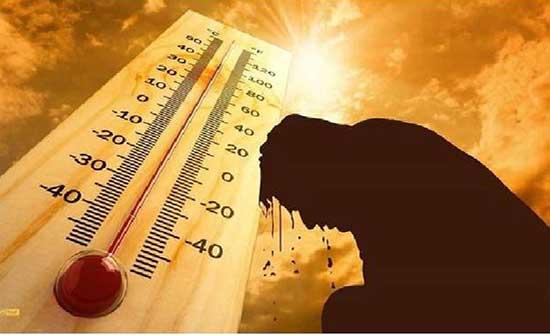 الاحد: الحرارة اعلى من معدلاتها الطبيعية
