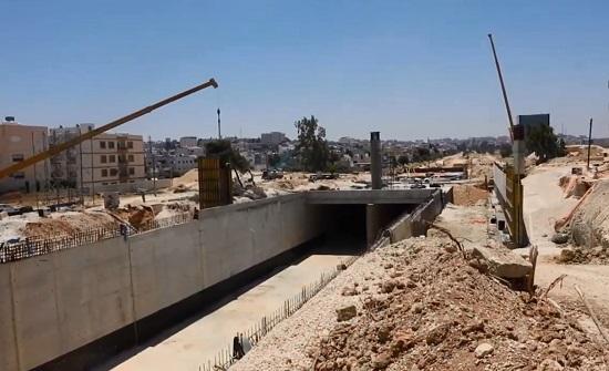 الانتهاء من أعمال مشروع مرج الحمام نهاية الشهر الحالي