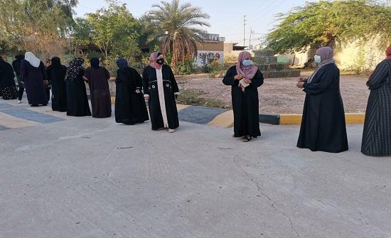 أول عملية اقتراع لأربعيني في رابعة اربد