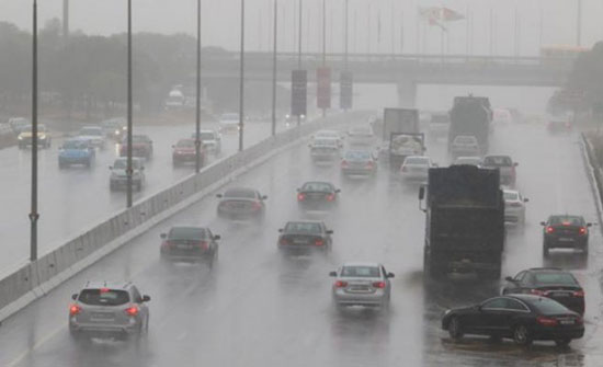 الخميس : طقس بارد وزخات أمطار وبرد في أجزاء مختلفة من المملكة