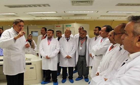 لجان الطاقة والصحة والمالية النيابية ونواب إربد يزورون المفاعل النووي الأردني