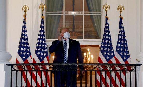 ترامب يتحدث عن المناسبة التي نقلت له فيروس كورونا